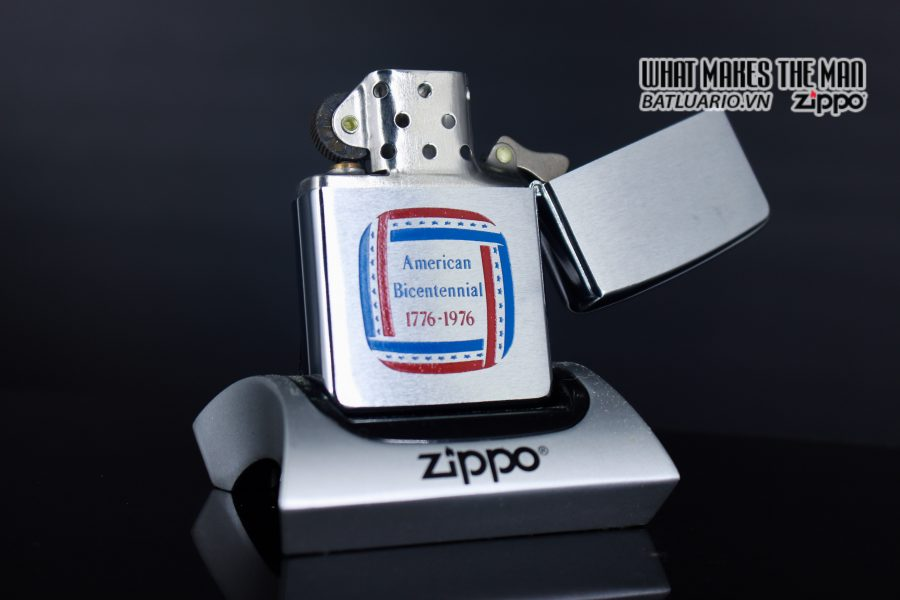 HIẾM – ZIPPO 1976 – SALESMAN SAMPLE PROMOTION – INDEPENDENCE DAY 1776 – 1976 5