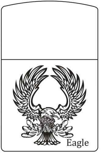 MẪU KHẮC ZIPPO 424