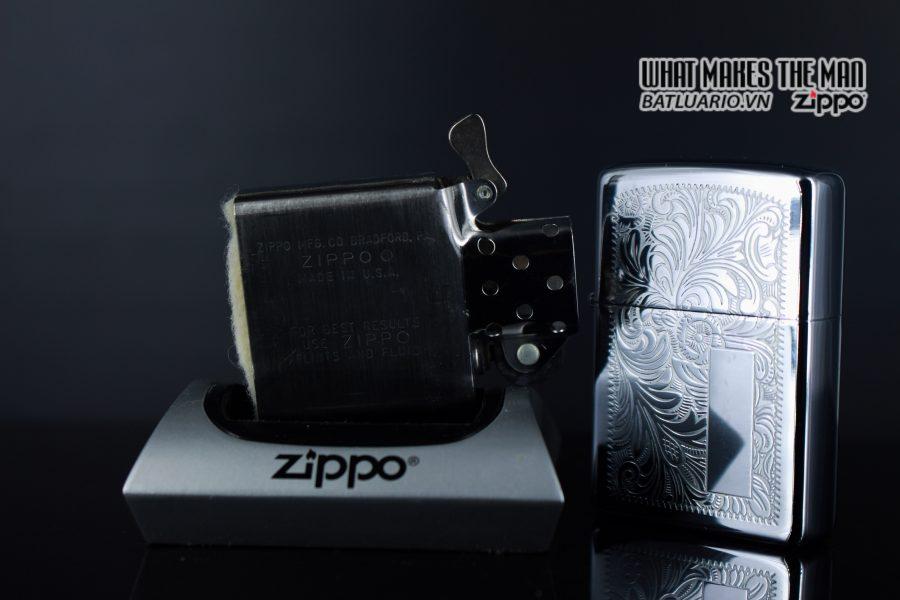 ZIPPO 1980 – VENETIAN – HOA VĂN Ý 3