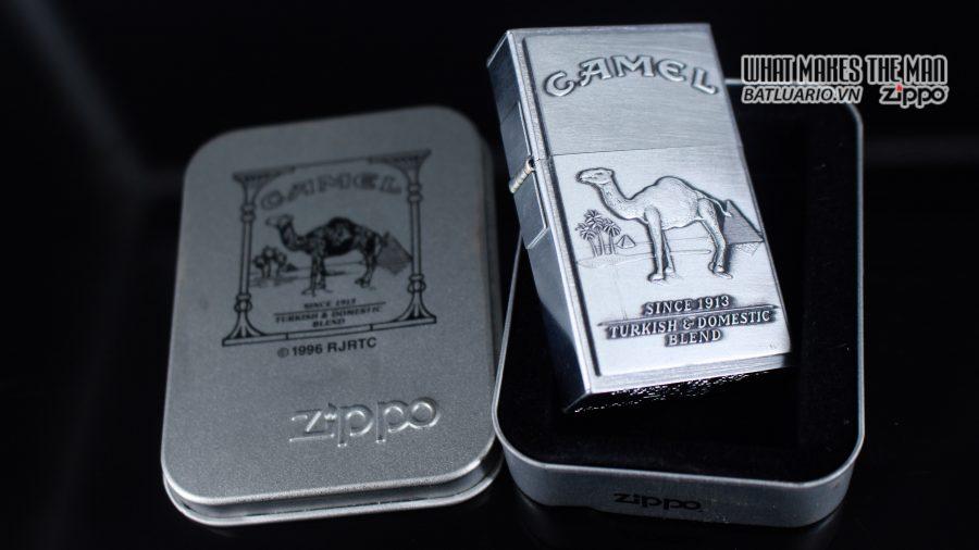 ZIPPO 1997 – SECOND RELEASE – REPLICA 1932 – CAMEL 1