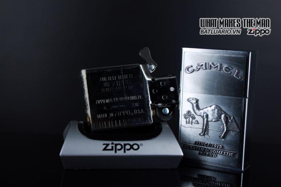 ZIPPO 1997 – SECOND RELEASE – REPLICA 1932 – CAMEL 2