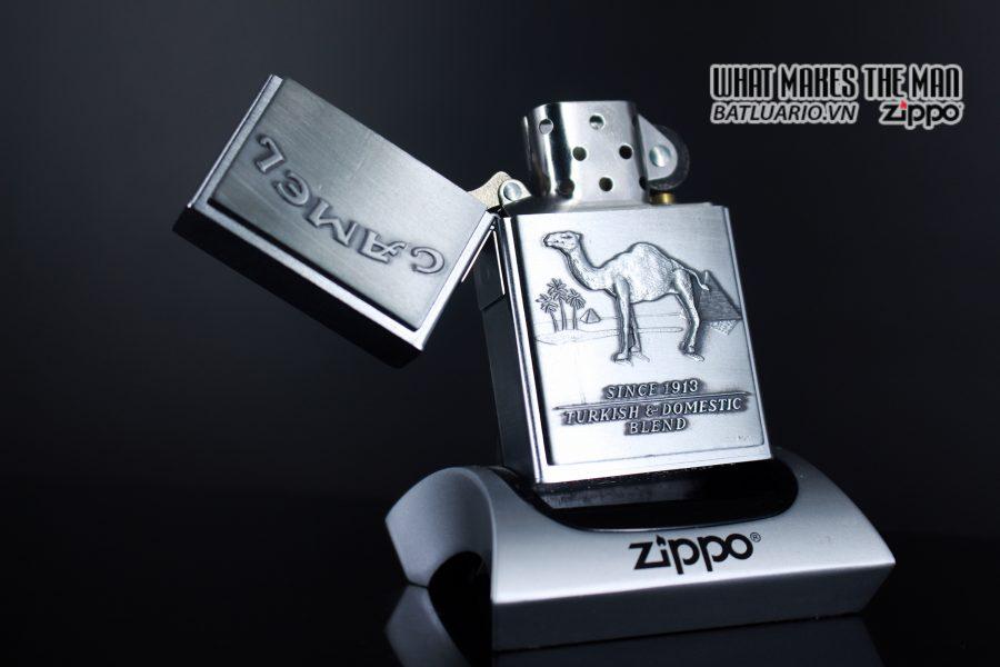 ZIPPO 1997 – SECOND RELEASE – REPLICA 1932 – CAMEL 9