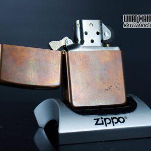 ZIPPO 2003 – SOLID COPPER – MARLBORO BLEND NO 27 1