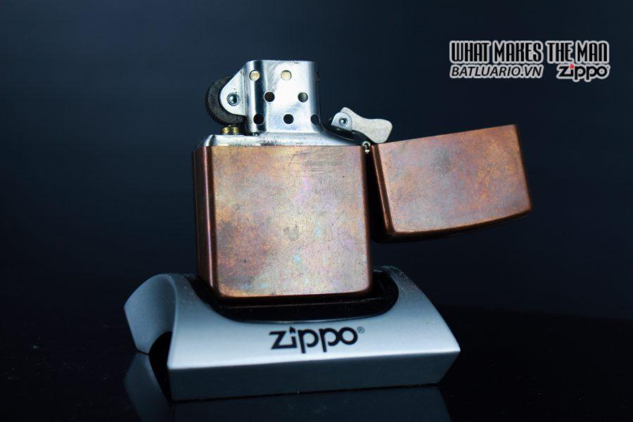 ZIPPO 2003 – SOLID COPPER – MARLBORO BLEND NO 27 10