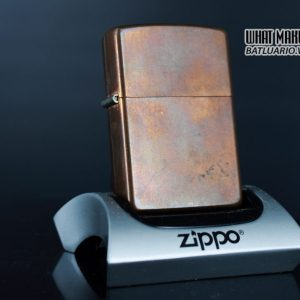 ZIPPO 2003 – SOLID COPPER – MARLBORO BLEND NO 27