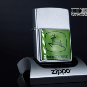 ZIPPO 2006 - ZIPPO JOHN DEERE EMBLEM