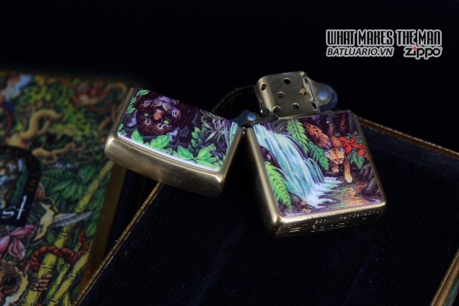 ZIPPO COTY 1995 – FOREST – BẢN PHỤ 10