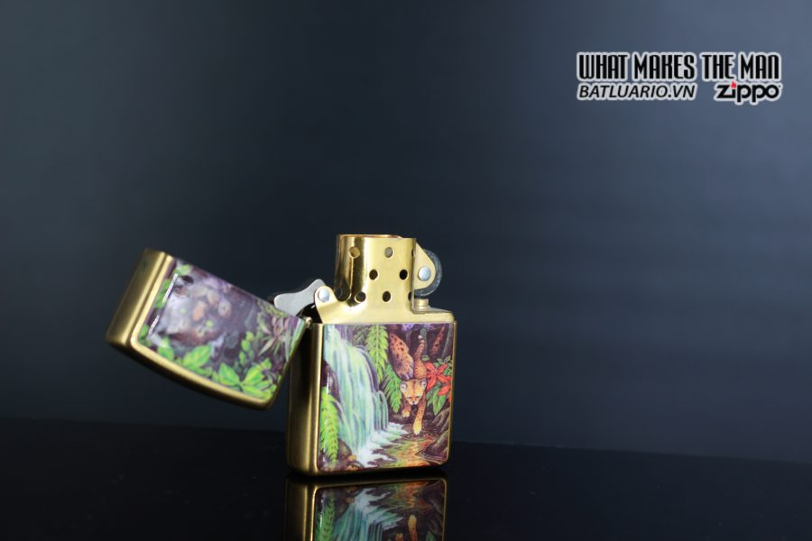 ZIPPO COTY 1995 – FOREST – BẢN PHỤ 3