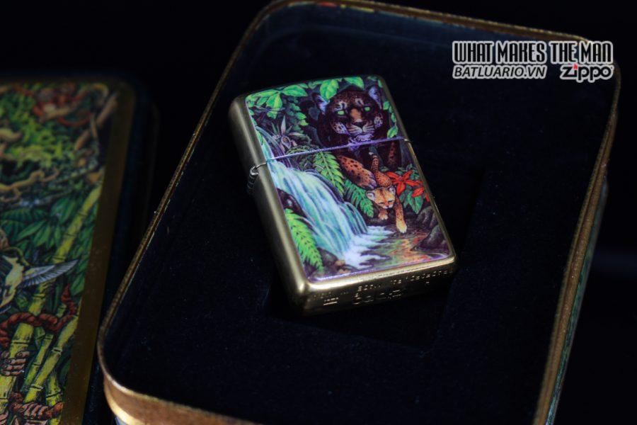 ZIPPO COTY 1995 – FOREST – BẢN PHỤ