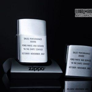 ZIPPO GIFT SET – ZIPPO XƯA 1962 – ROTUNDA – SALES PERFORMANCE AWARD