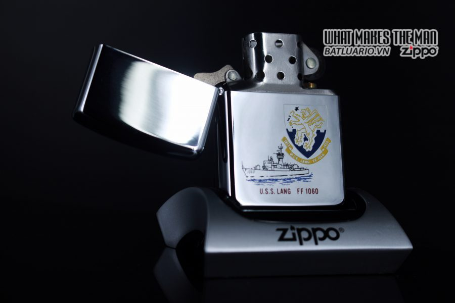 ZIPPO LA MÃ 1988 – USS LANG FF 1060 1