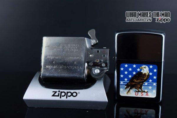 ZIPPO LA MÃ 1990 – AMERICAN EAGLE 2