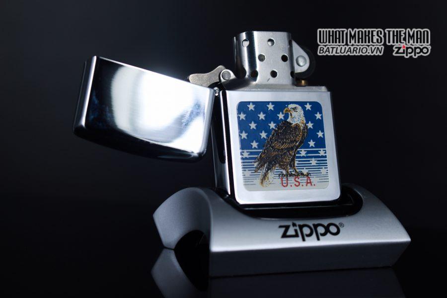 ZIPPO LA MÃ 1990 – AMERICAN EAGLE 8