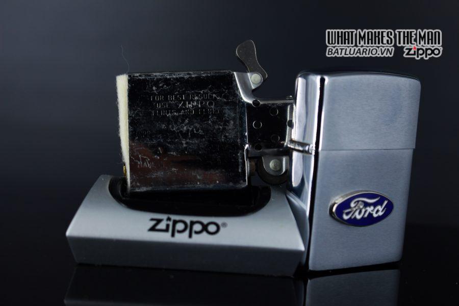 ZIPPO LA MÃ 1990 – FORD 3