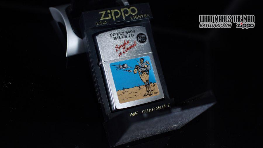 ZIPPO LA MÃ 1991 – SMOKE A CAMEL 1
