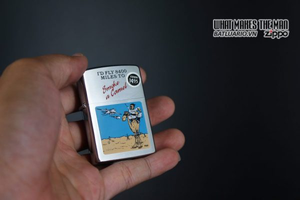 ZIPPO LA MÃ 1991 – SMOKE A CAMEL 5