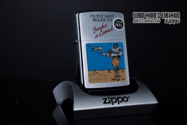 ZIPPO LA MÃ 1991 – SMOKE A CAMEL