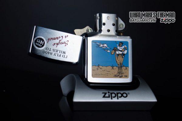 ZIPPO LA MÃ 1991 – SMOKE A CAMEL 8
