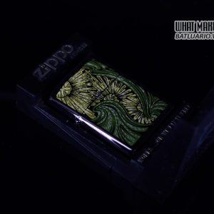 ZIPPO LA MÃ 1992 – BARRET SMYTHE MIDNIGHT COLECTION – ART NOUVEAU 1