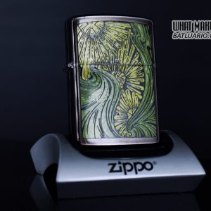 ZIPPO LA MÃ 1992 – BARRET SMYTHE MIDNIGHT COLECTION – ART NOUVEAU