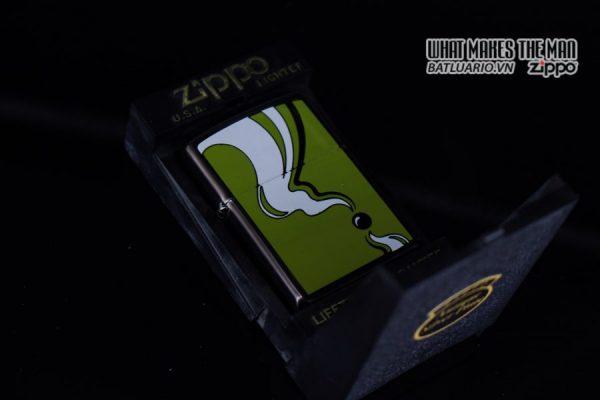 ZIPPO LA MÃ 1993 – BARRET SMYTHE MIDNIGHT COLECTION – MODEM ART 1