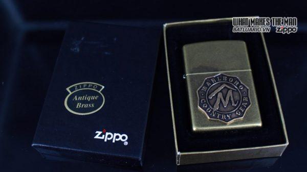 ZIPPO LA MÃ 1995 – MARLBORO – COUNTRY GEAR 1