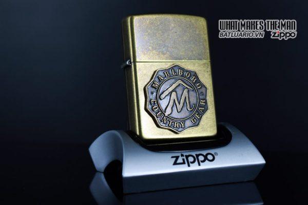 ZIPPO LA MÃ 1995 – MARLBORO – COUNTRY GEAR