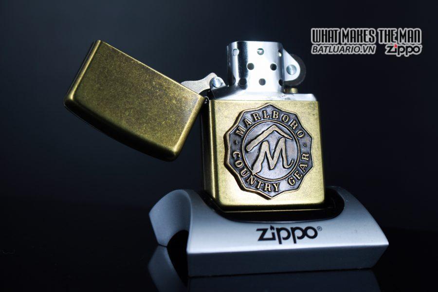 ZIPPO LA MÃ 1995 – MARLBORO – COUNTRY GEAR 7