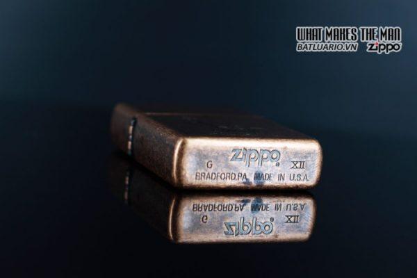 ZIPPO LA MÃ 1996 – ANTIQUE COPPER – LIBERTY 4