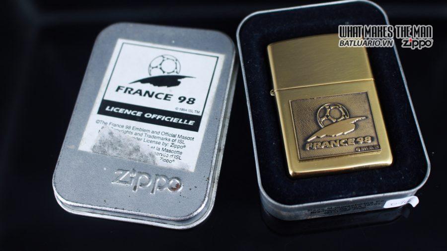 ZIPPO LA MÃ 1997 – FRANCE 98 – EMBLEM 1