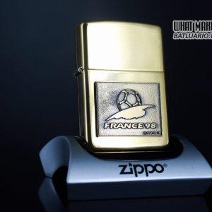 ZIPPO LA MÃ 1997 – FRANCE 98 – EMBLEM