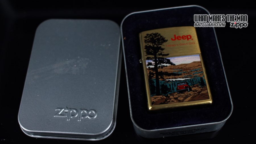ZIPPO LA MÃ 1997 – JEEP – THERE'S ONLY ONE 1
