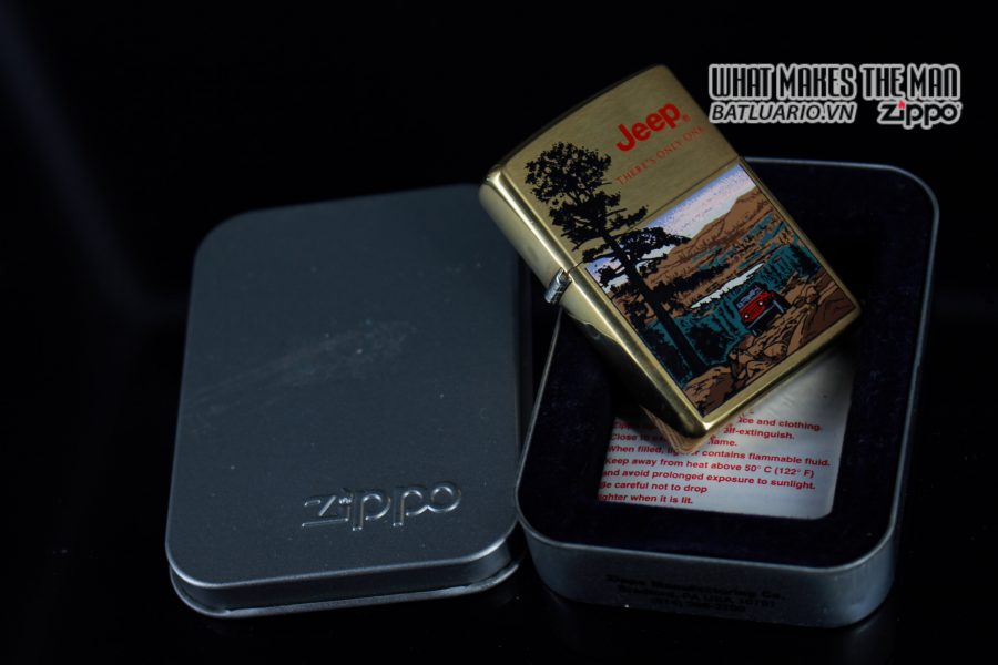ZIPPO LA MÃ 1997 – JEEP – THERE'S ONLY ONE 10