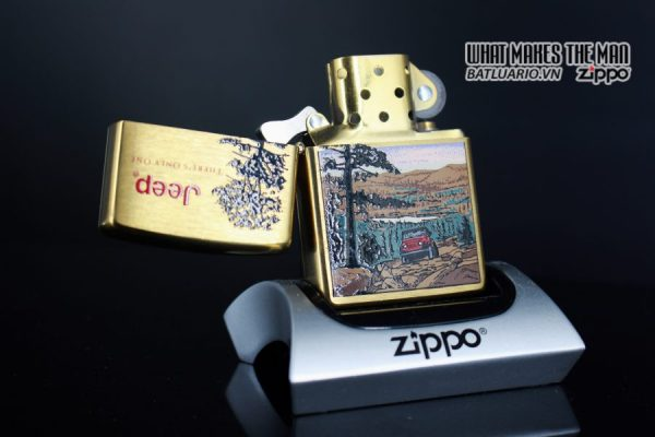 ZIPPO LA MÃ 1997 – JEEP – THERE'S ONLY ONE 3