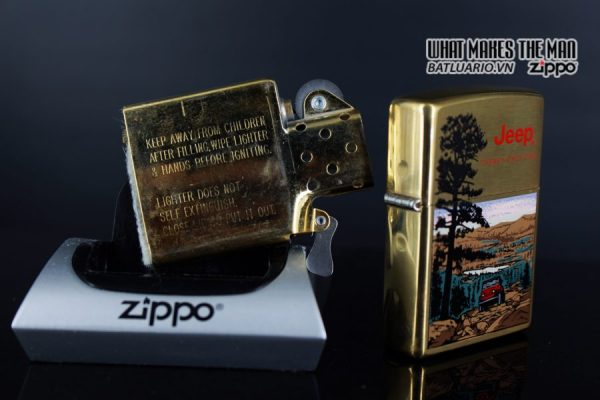 ZIPPO LA MÃ 1997 – JEEP – THERE'S ONLY ONE 4