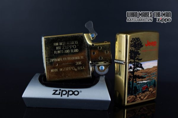 ZIPPO LA MÃ 1997 – JEEP – THERE'S ONLY ONE 5