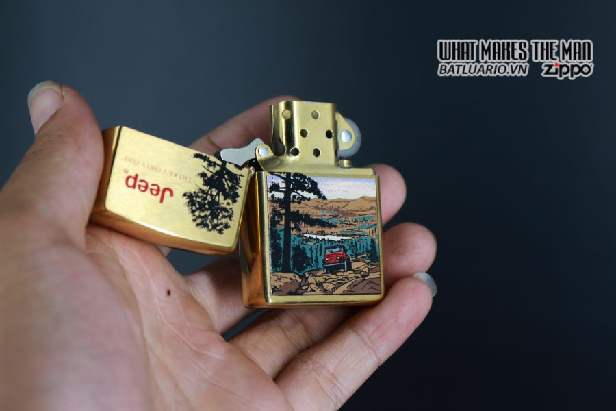 ZIPPO LA MÃ 1997 – JEEP – THERE'S ONLY ONE 8