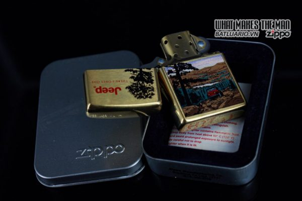 ZIPPO LA MÃ 1997 – JEEP – THERE'S ONLY ONE 9