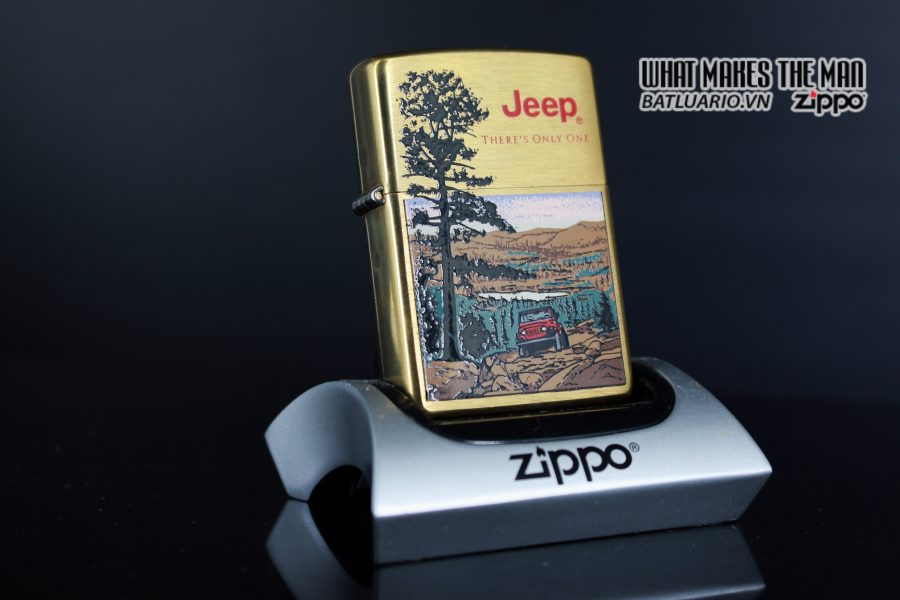 ZIPPO LA MÃ 1997 – JEEP – THERE'S ONLY ONE