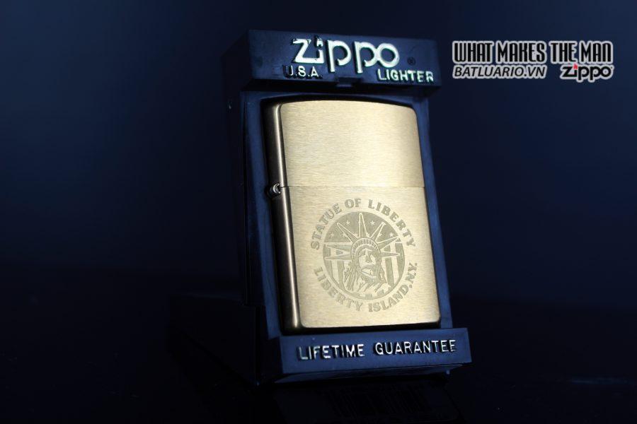 ZIPPO LA MÃ 1997 – STATUE OF LIBERTY 1