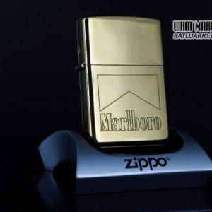 ZIPPO LA MÃ 1999 – MARLBORO – ĐỒNG NGUYÊN KHỐI