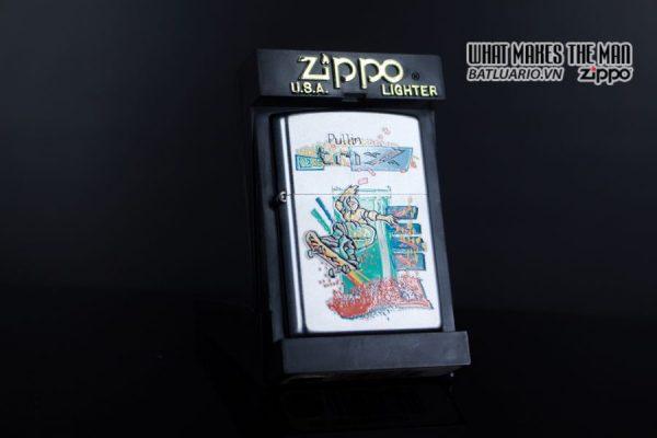 ZIPPO LA MÃ 2000 – SKATEBOARDING SKATEBOARDER PULLIN TRIX – SPORTS SERIES 1