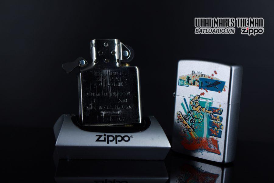 ZIPPO LA MÃ 2000 – SKATEBOARDING SKATEBOARDER PULLIN TRIX – SPORTS SERIES 4