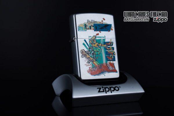 ZIPPO LA MÃ 2000 – SKATEBOARDING SKATEBOARDER PULLIN TRIX – SPORTS SERIES