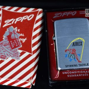 ZIPPO XƯA 1952 - 1954 - AIREX SPINNING TACKLE 1