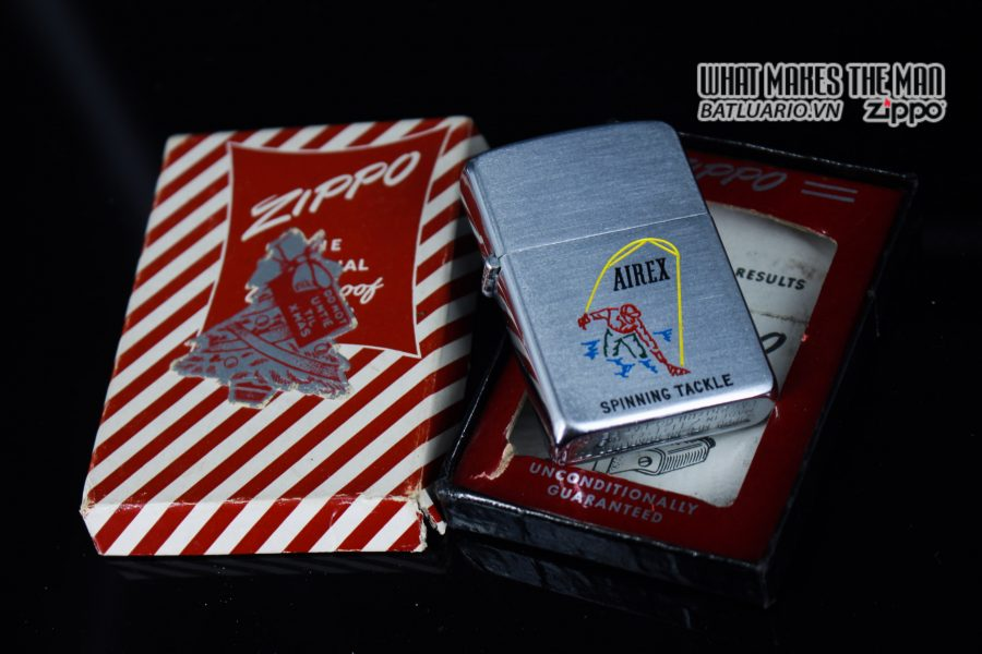 ZIPPO XƯA 1952 - 1954 - AIREX SPINNING TACKLE 10