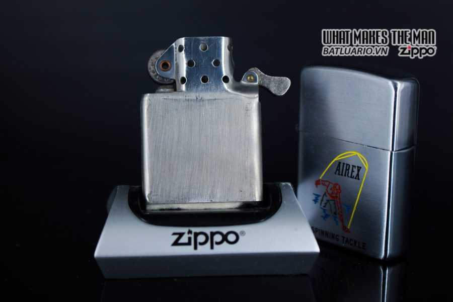 ZIPPO XƯA 1952 - 1954 - AIREX SPINNING TACKLE 4