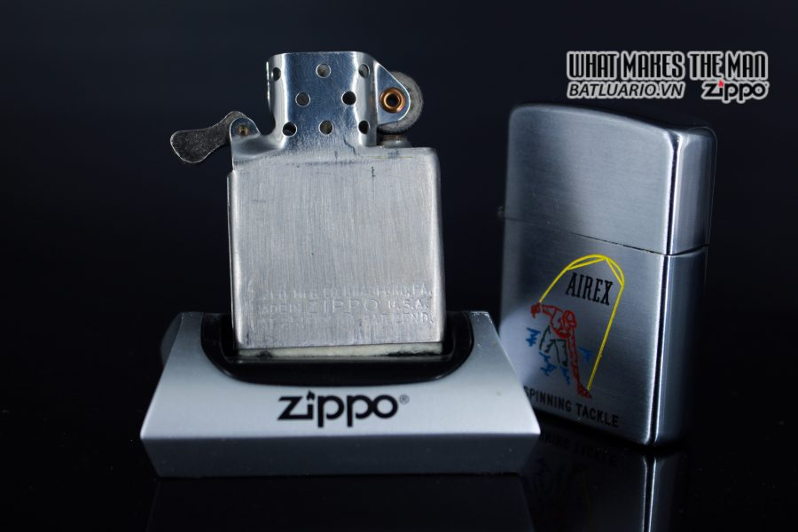 ZIPPO XƯA 1952 - 1954 - AIREX SPINNING TACKLE 5