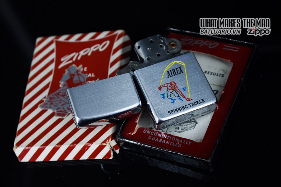 ZIPPO XƯA 1952 - 1954 - AIREX SPINNING TACKLE 9