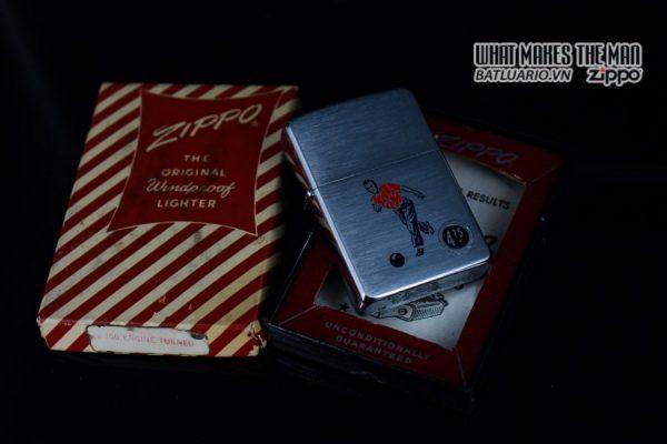 ZIPPO XƯA 1957 – BOWLING – SPORT SERRIES 12